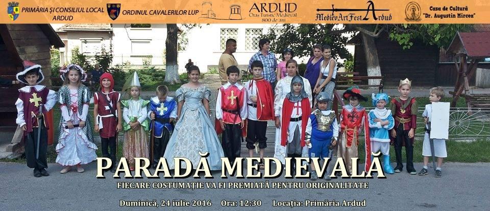 Provocare pentru părinți și copii! Fă-ți copilul cavaler sau prințesă la MedivArtFest Ardud