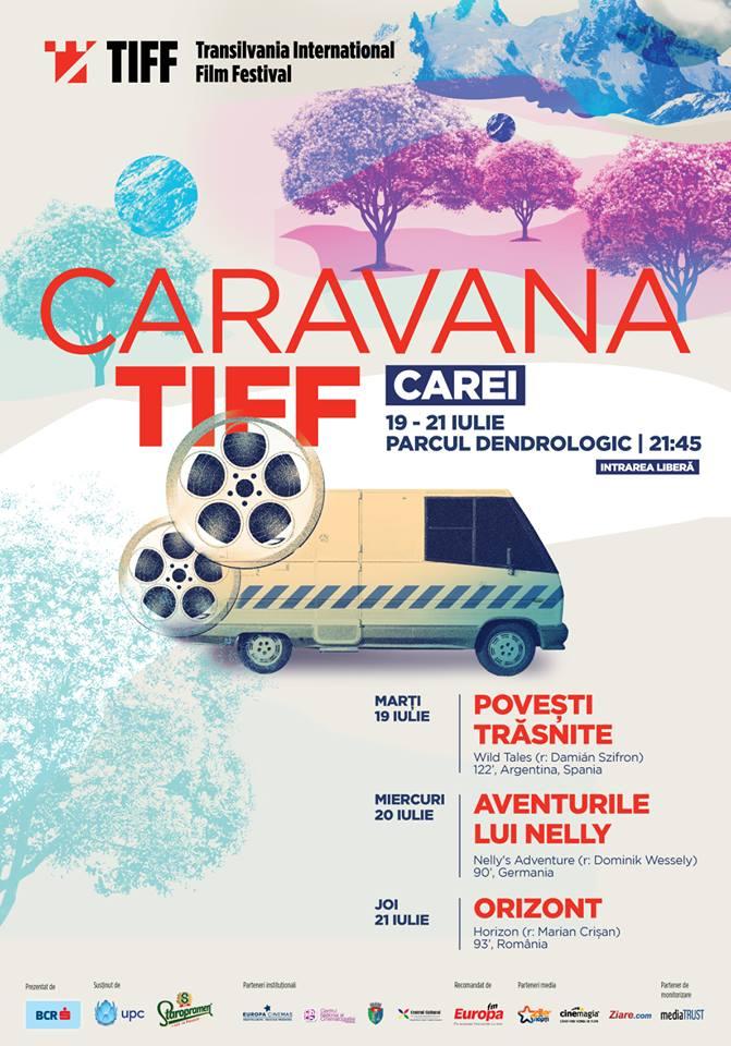 Caravana TIFF  ajunge săptămâna viitoare la Carei