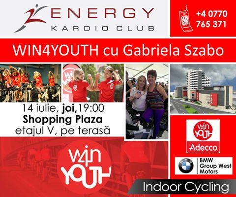 Marea campioană Gabriela Szabo pedalează joi cu sătmărenii la Energy Kardio Club