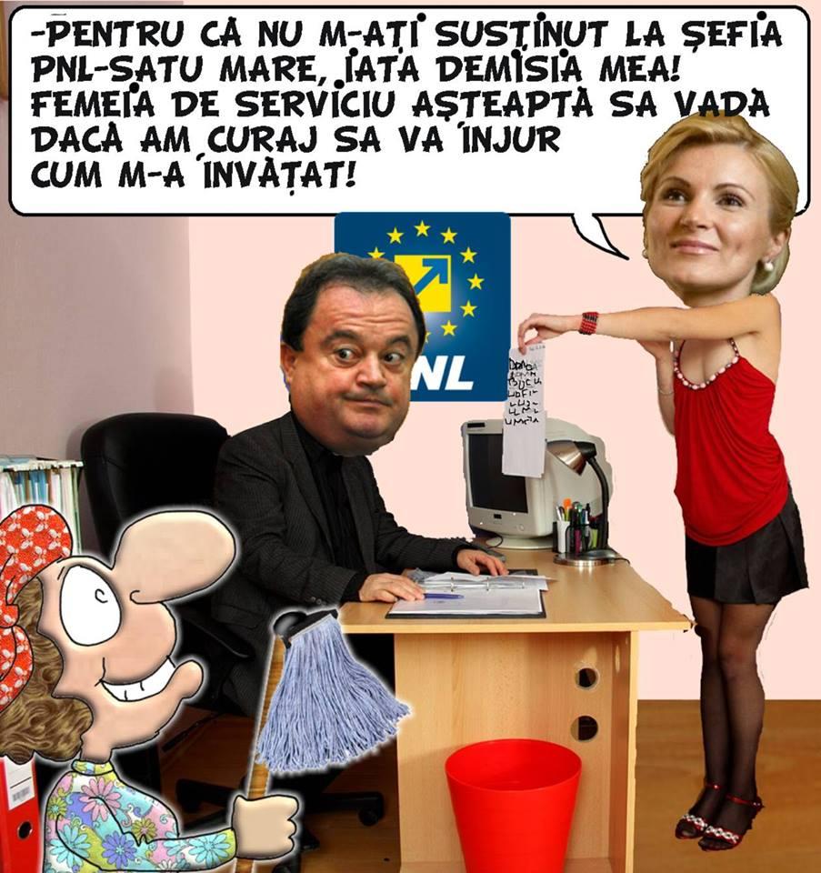 CARICATURA ZILEI!!! Fără funcție și fără cuvinte vesele