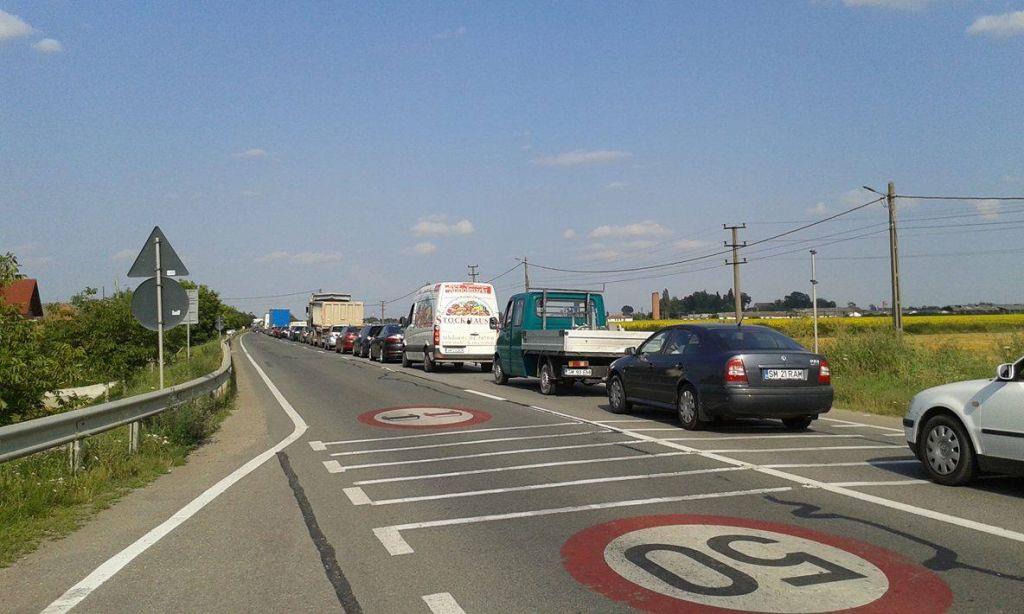 Lucrările și aglomerația de pe drumul Careiului mai durează încă două săptămâni