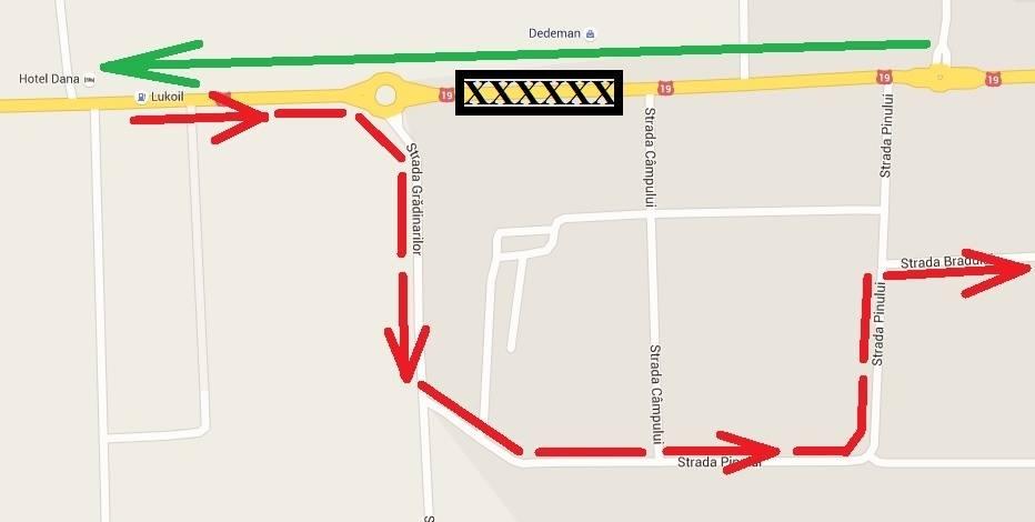 Soluția de compromis la traficul de pe strada Careiului. Vezi ruta pe care poți fenta traficul