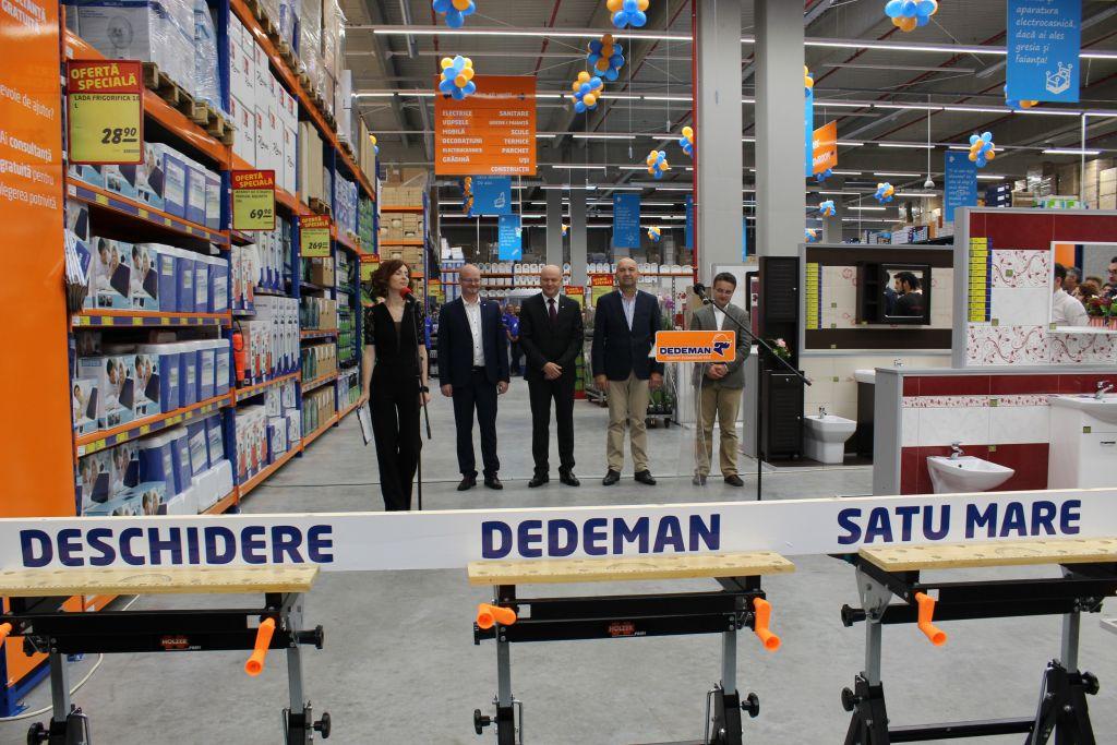 Magazinul Dedeman a fost inaugurat oficial. 45.000 de produse pe rafturile magazinului