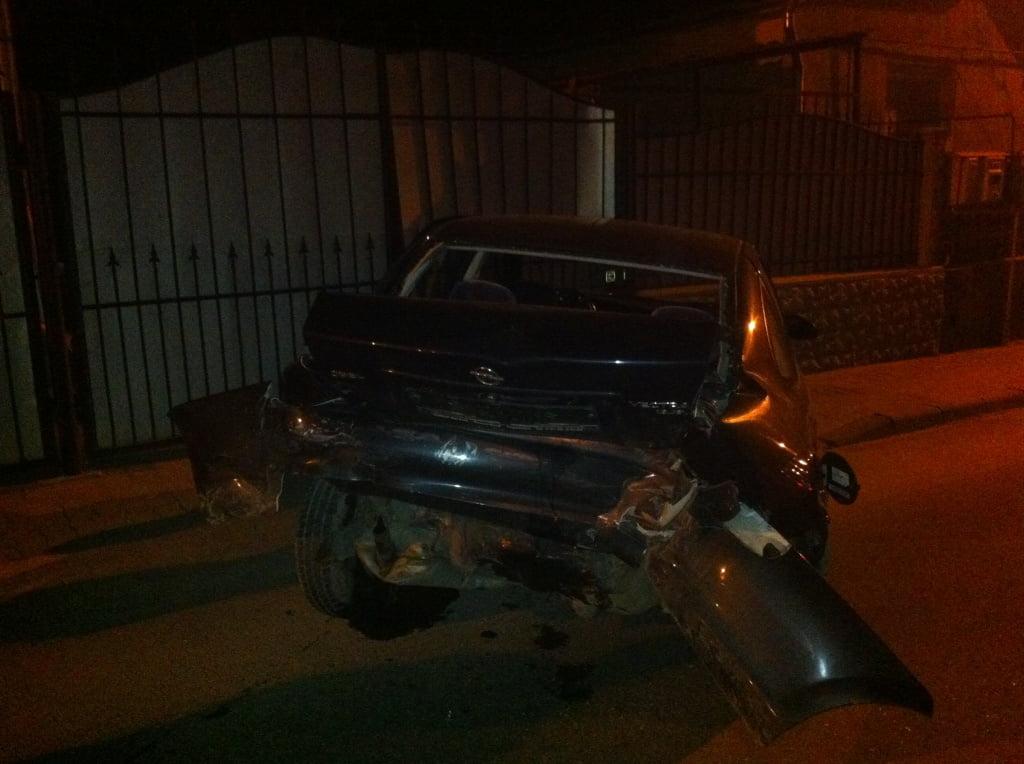Accident pe strada Arinului. Alcoolemia vinovatului i-a speriat și pe polițiști