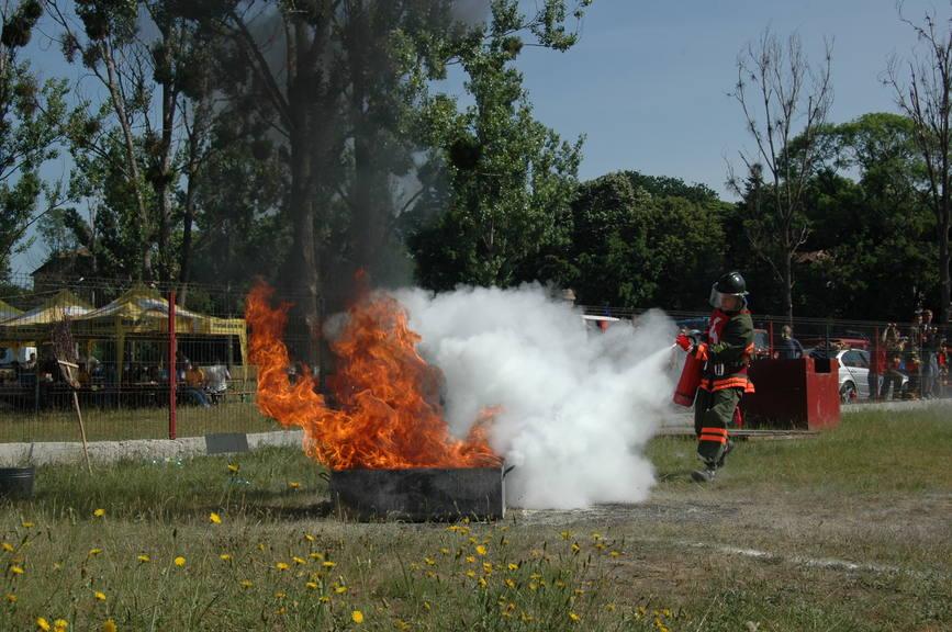 Pompierii de la UNIO s-au calificat la faza națională a concursurilor profesionale