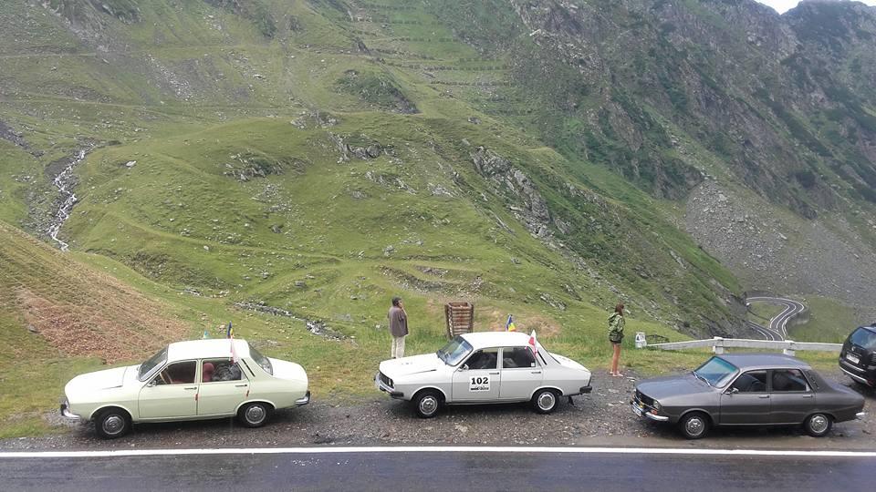Cu Dacia pe Transfăgărăraș și Transalpina – peripețiile lui George Negrea – FOTO