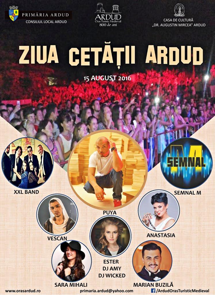 """Urmează un weekend plin de distracție la Ardud. Vezi programul Festivalului """"Cetatea Codrului"""" și a Zilei Cetății"""