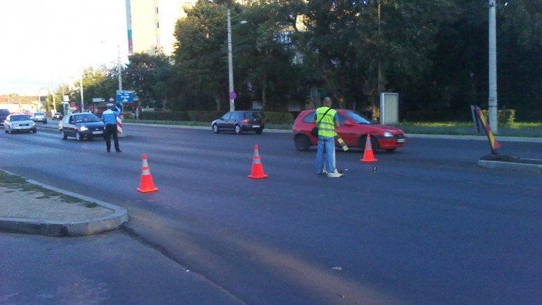 Un șofer care a accidentat un copil și apoi a fugit de la locul accidentului, a fost prins. Nu avea permis