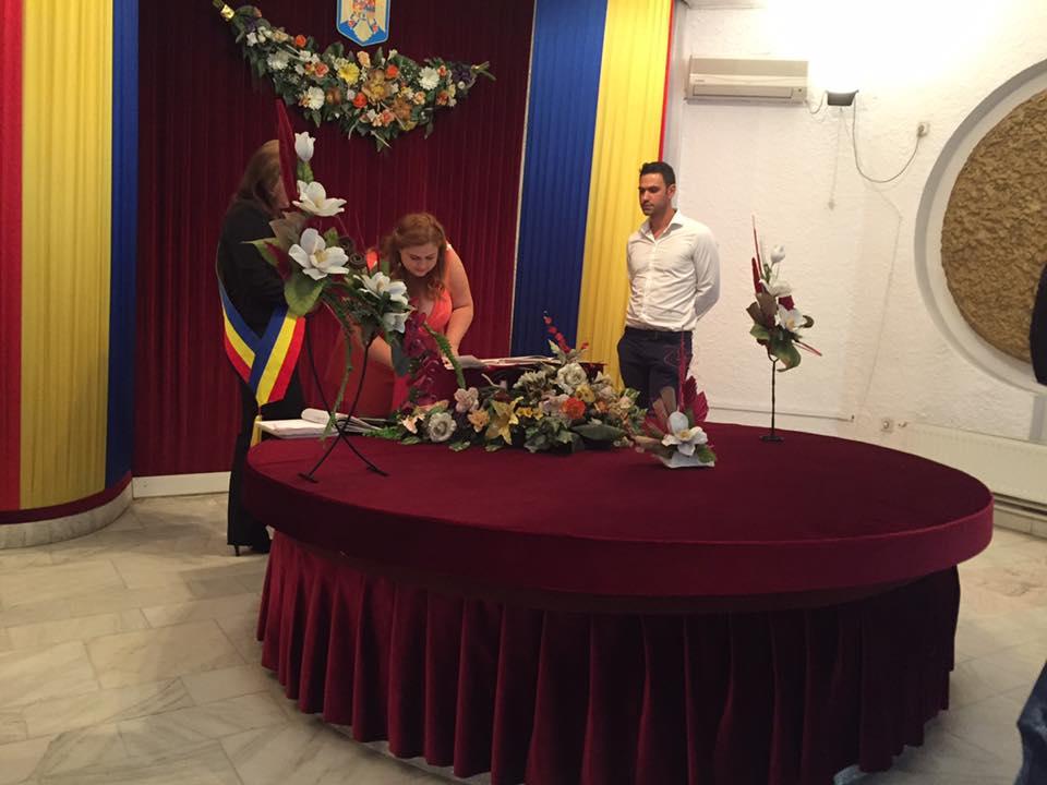 """În luna august în municipiul Satu Mare au spus """"DA"""" în fața ofițerului de stare civilă 121 de cupluri"""