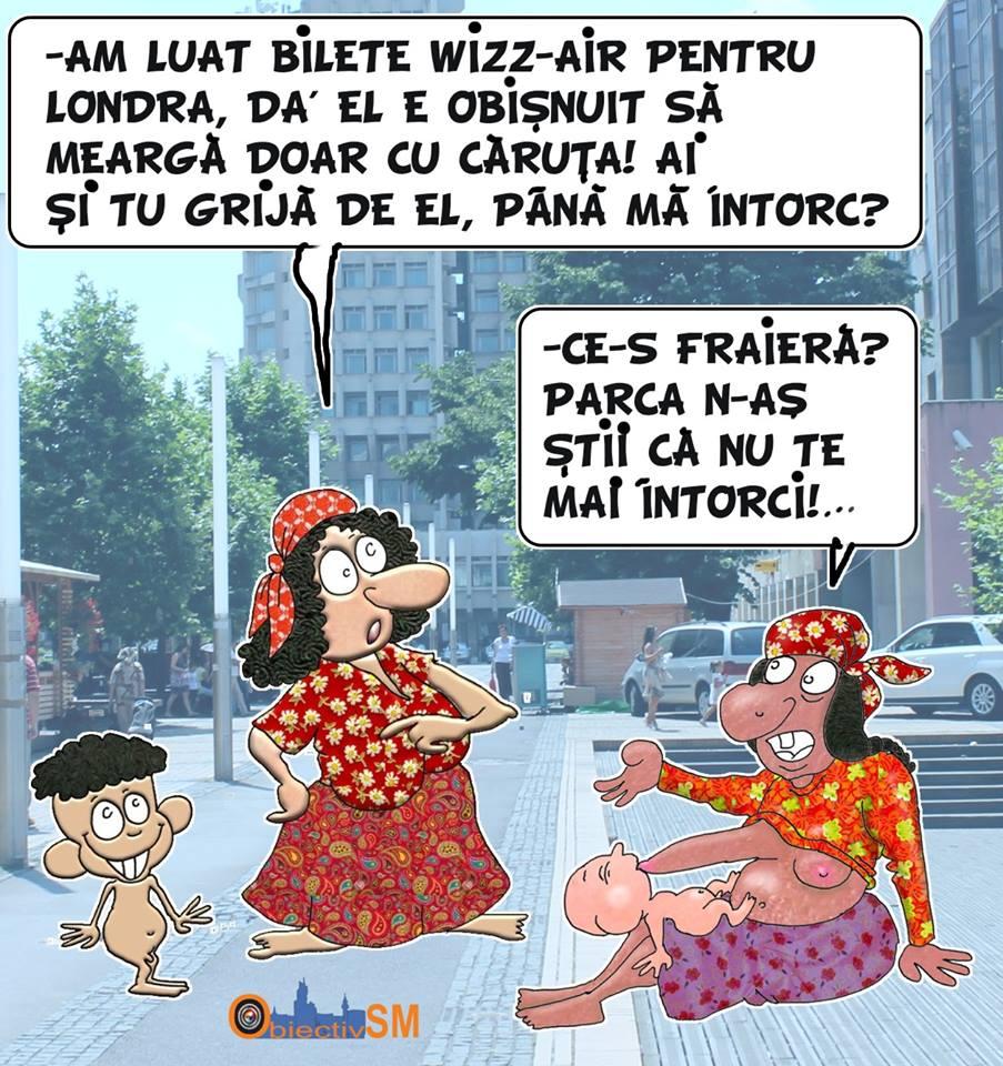 CARICATURA ZILEI!!! Situație cu dus…întors mai puțin