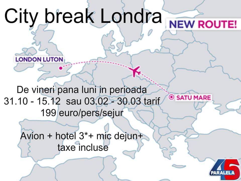 O agenție de turism din Satu Mare a lansat primele pachete city-break pentru Londra cu plecare din Satu Mare. Cât costă un weekend