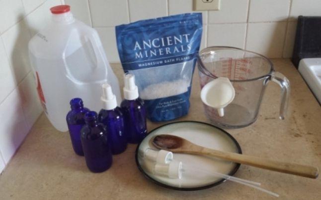 Sfaturile unei sătmărence pentru prepararea uleiului de magneziu, care te scapă de durerile musculare