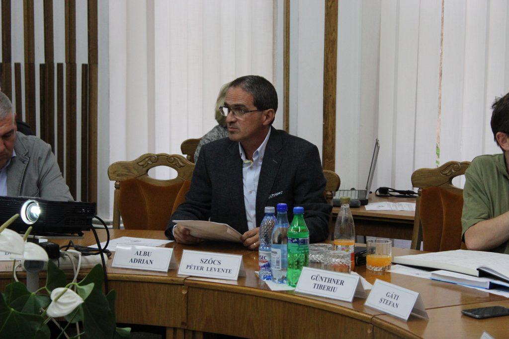 Adrian Albu - candidat pentru Senat