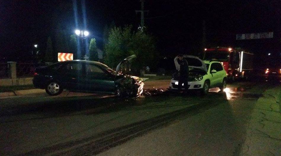 Accident în Săcășeni. Șoferul vinovat a consumat alcool