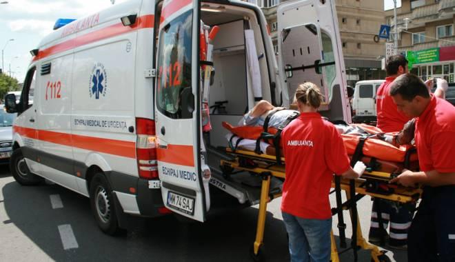 Bătrân de 81 de ani, accidentat în timp ce trecea drumul prin loc nepermis