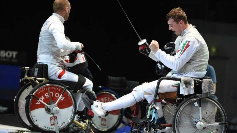 Încă un sătmărean medaliat olimpic. Richard Osvath a luat argintul la scrimă în fotoliu rulant