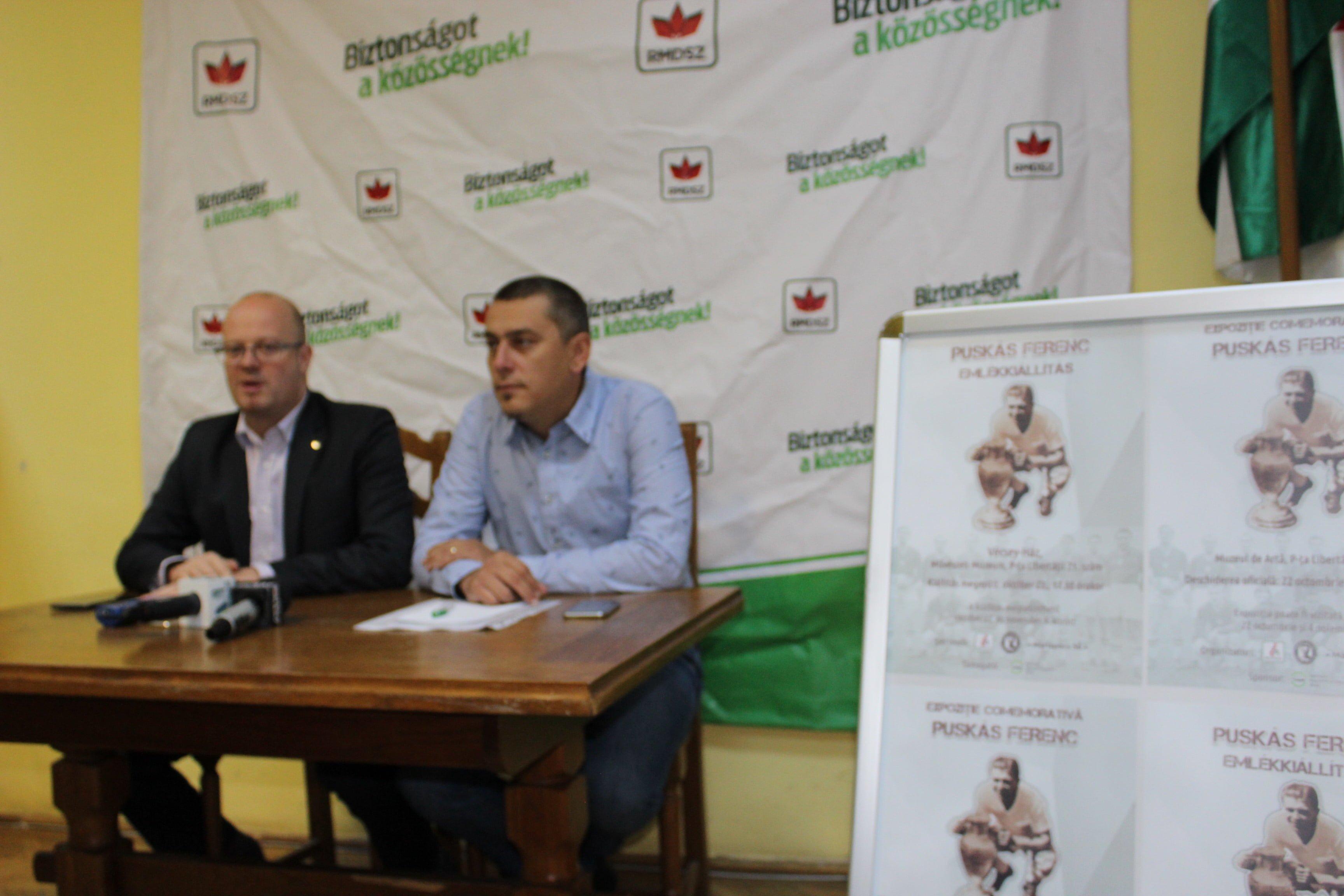 UDMR aduce la Satu Mare expoziția comemorativă dedicată fotbalistului Puskás Ferencs
