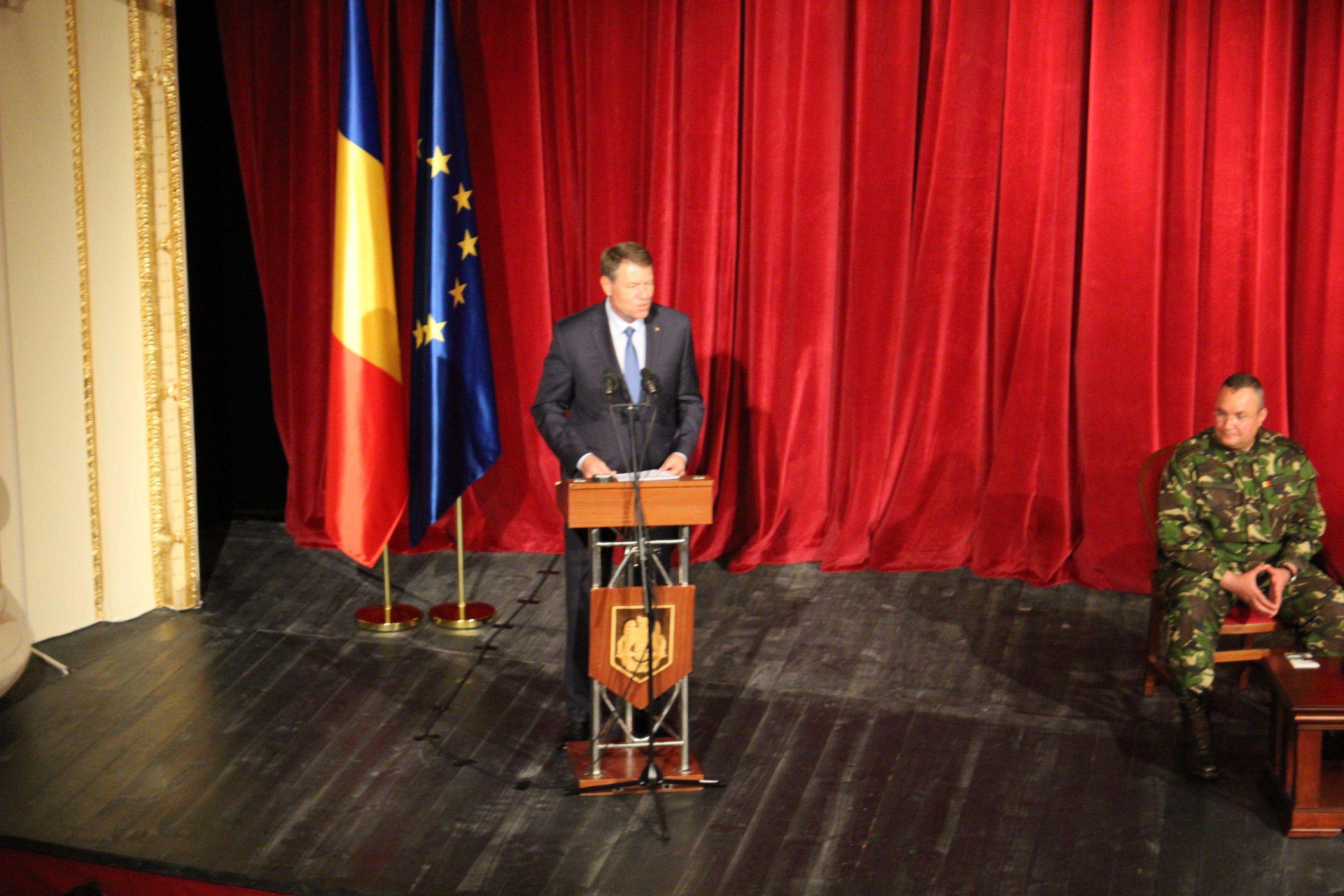 """Președintele Klaus Iohannis la Satu Mare: """"Îndrăgesc Satu Mare"""""""