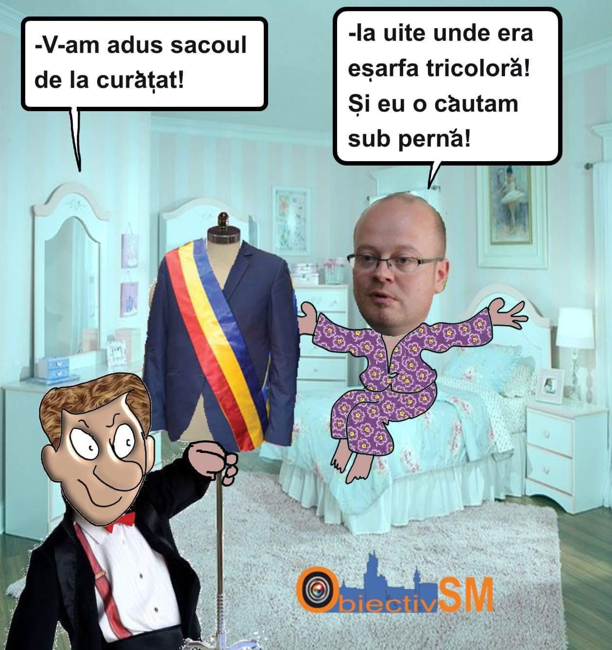 CARICATURA ZILEI!!! Aproape de coşmar