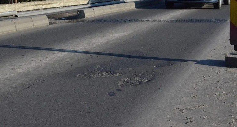 Care e explicația primăriei pentru gropile de pe podul Decebal și când se vor repara ele