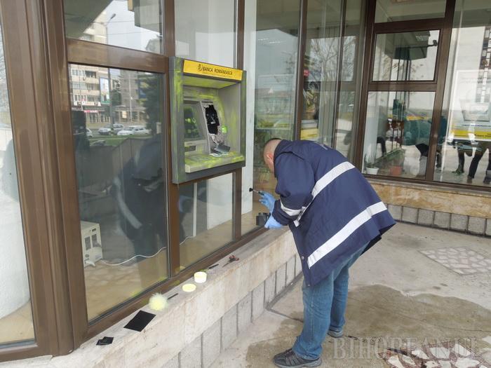 Hoț din bancomate, scăpat printre degete de un agent de pază din Carei. Noroc cu poliția, l-a prins rapid