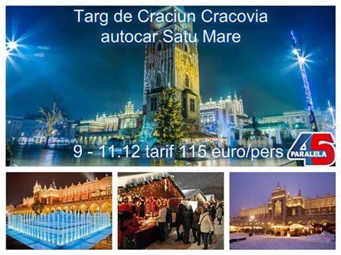 Trei târguri de Crăciun la care sătmărenii au acces cu mai puțin de 200 euro. Paralela45 are prețuri care bat concurența