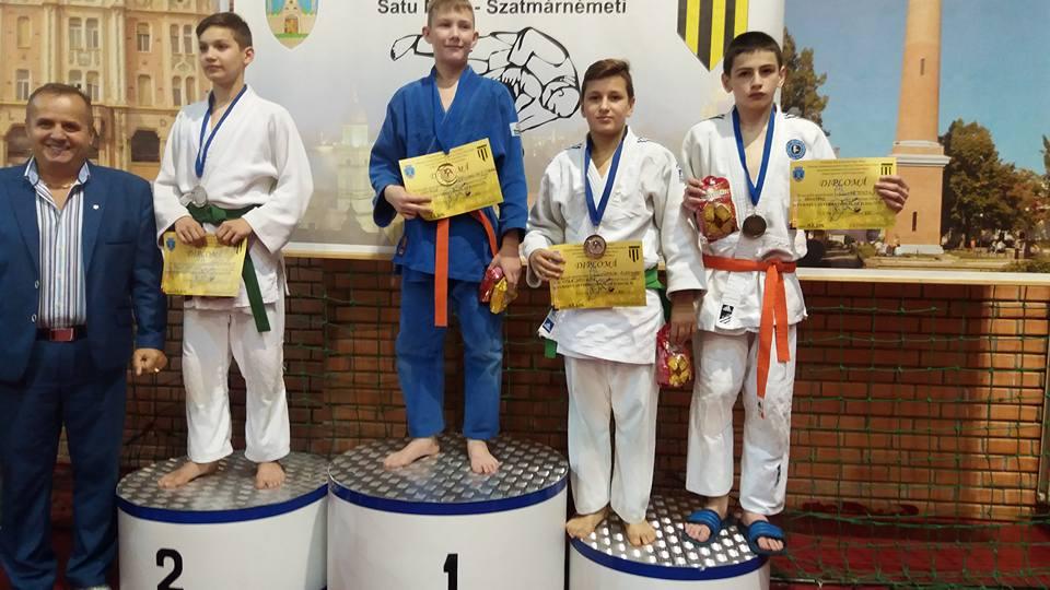 """Sportivii Judo Club Fușle Security au obținut un munte de medalii la Turneul Internațional """"Cupa Unio"""""""