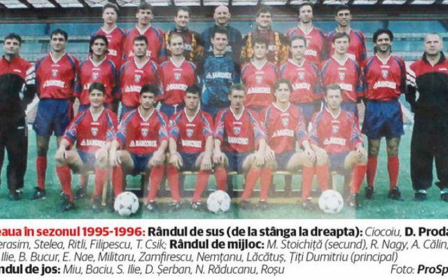 Daniel Prodan în lotul Steaua Bucuresti