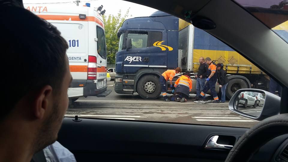 Șoferul de TIR care a lovit mortal un bătrân, duminică, la Păulian, era beat