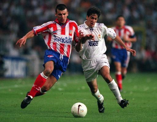 Prodan într-un meci Atletico Madrid - Real Madrid