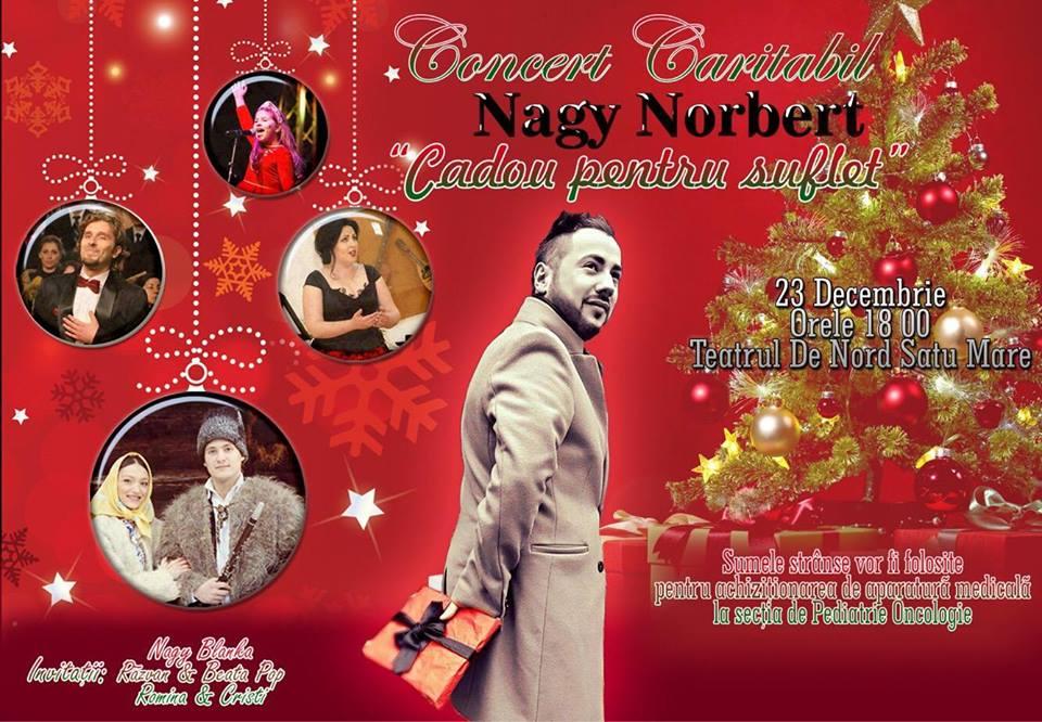 Ultimele bilete disponibile la concertul caritabil al lui Nagy Norbert. Ai doar câteva ore să le cumperi
