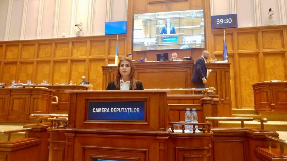 Deputata Ioana Bran este unul din secretarii Camerei Deputaților