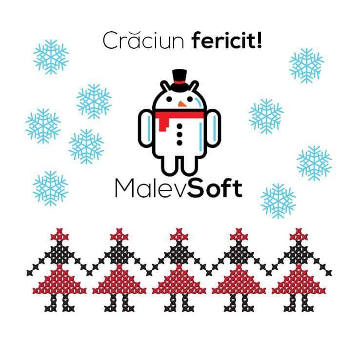 """Malev Soft vă urează """"SĂRBĂTORI FERICITE"""""""