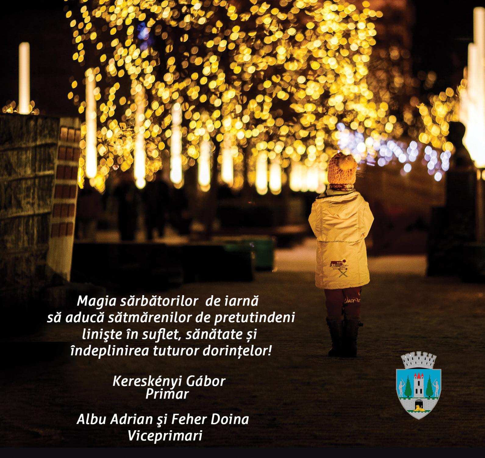 Mesajul de Crăciun al Primăriei Satu Mare