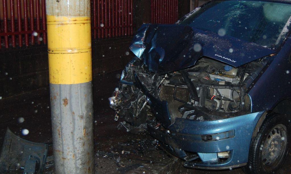 Accident cu trei victime, în ziua de Crăciun, în Amați. Vinovată, o șoferiță de 18 ani