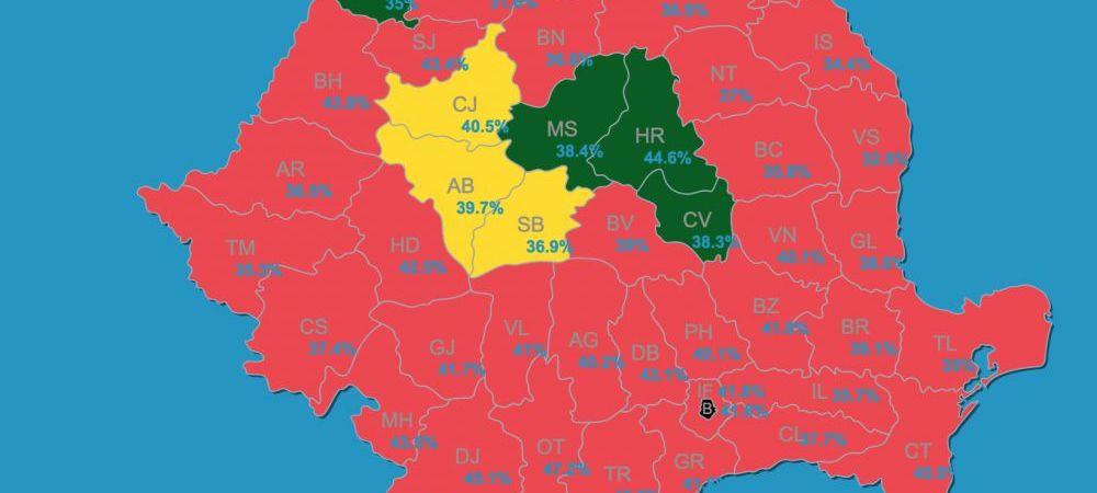Rezultatele alegerilor la Satu Mare după numărarea a 99% din voturi