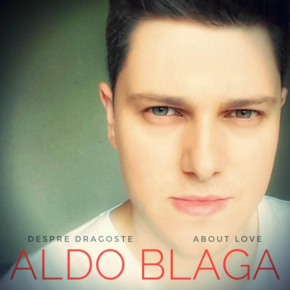 """Aldo Blaga lansează albumul  """"DESPRE DRAGOSTE"""". Invitați de renume și strângere de fonduri în cadrul evenimentului"""