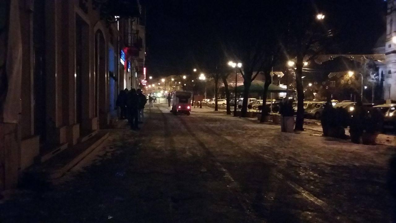 Deszăpezire cu lama ridicată pe Corso. Angajatul Florisal a înjurat un cetățean care i-a atras atenția