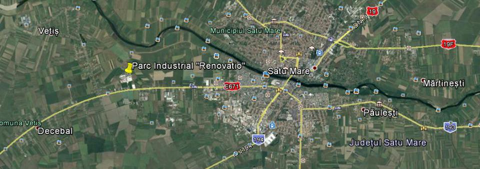 Un nou parc industrial în județul Satu Mare. Va avea 17 hectare