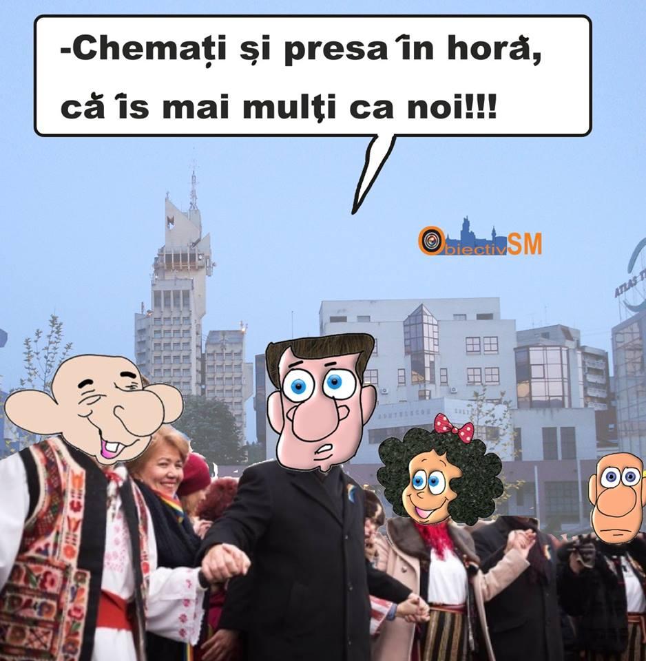 CARICATURA ZILEI!!! Hora care nu se-nchide