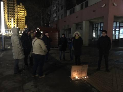 Se protestează și la Satu Mare
