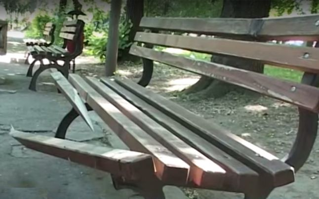 Doi tineri au devastat centrul comunei Pir
