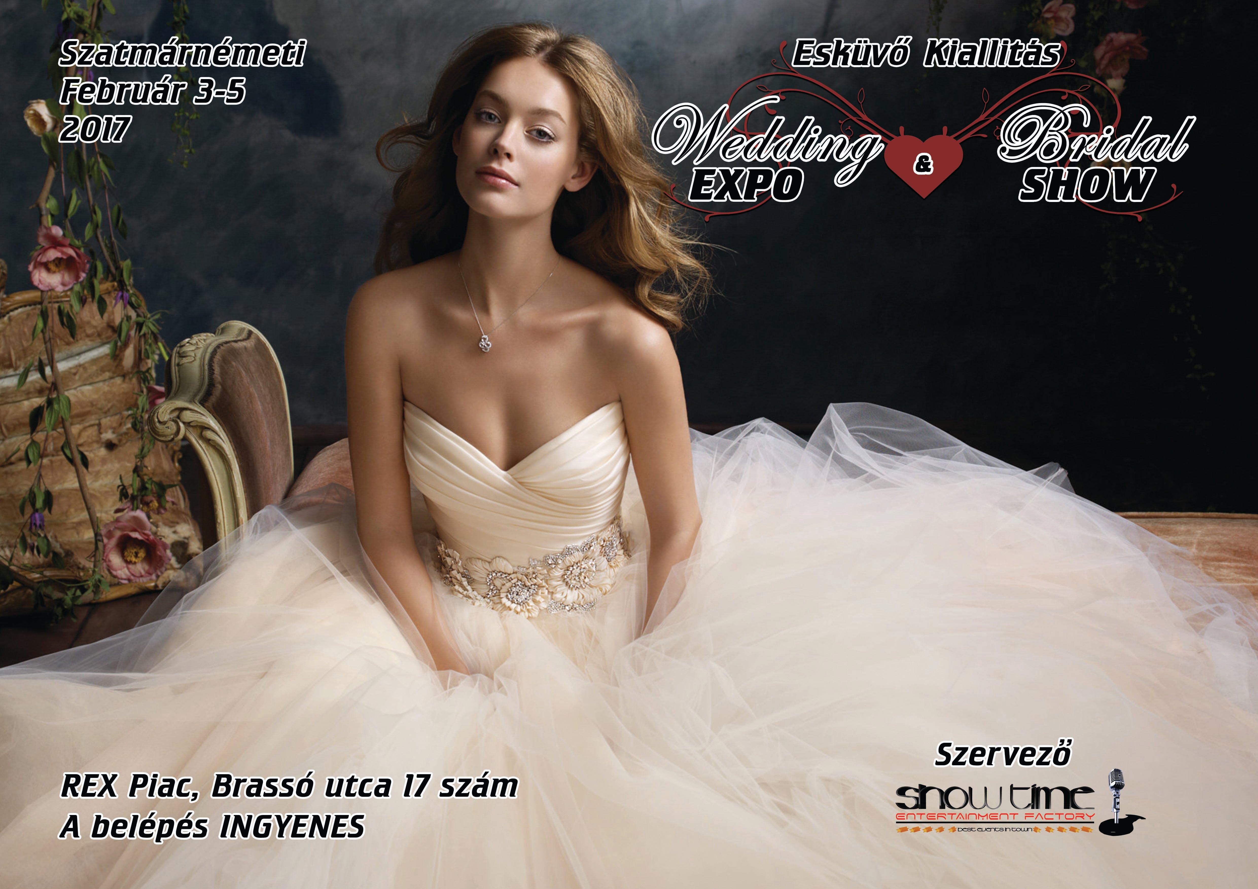 Esküvőre készülsz? A Wedding EXPO & Bridal SHOW az az esküvői kiállítás, amelyről nem hiányozhatsz!