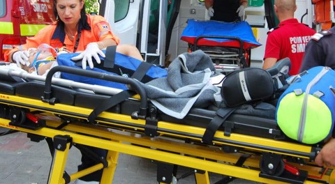 Fetiță de 6 ani, accidentată grav, în Supur