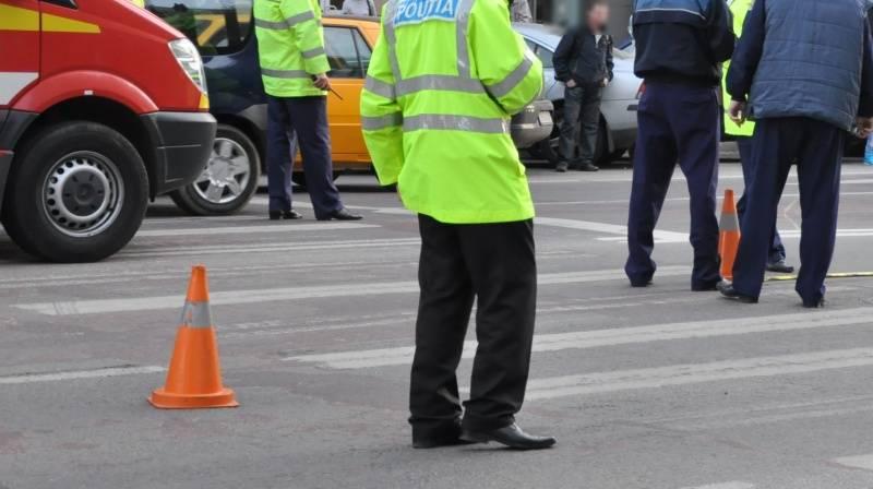 Accident pe trecerea de pietoni, în centrul municipiului Satu Mare