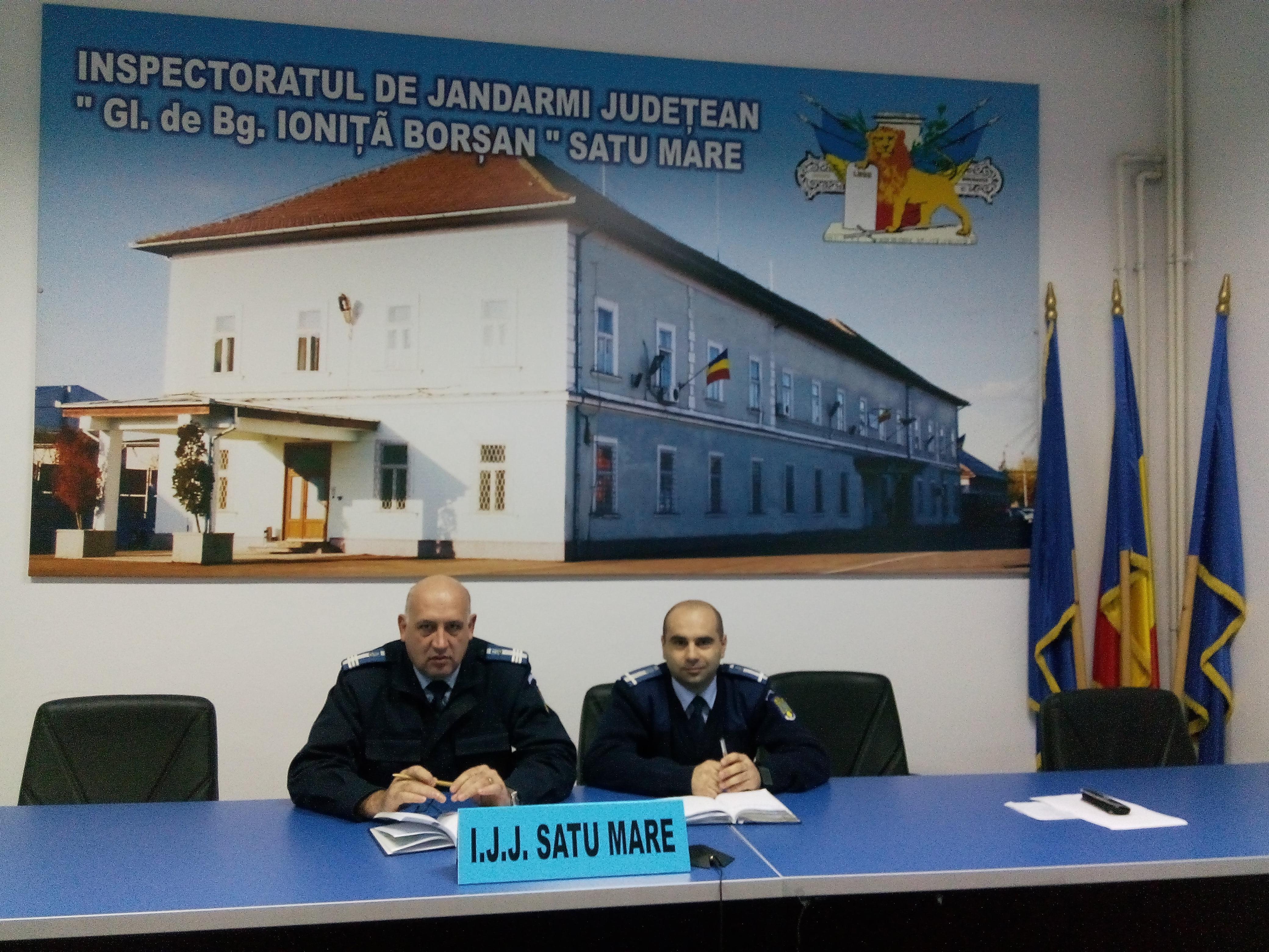 Satu Mare are un nou adjunct la Inspectoratul Județean de Jandarmi în persoana lui Vloga Gheorghe