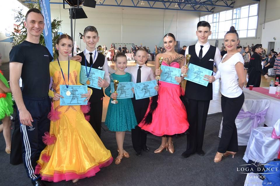 Dansatorii de la LogaDance au cucerit Bihorul. Șase medalii obținute