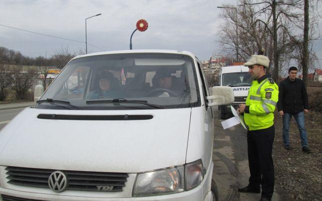 """Razie a polițiștilor pe drumurile din județ. Un bărbat din Odoreu, prima """"captură"""""""
