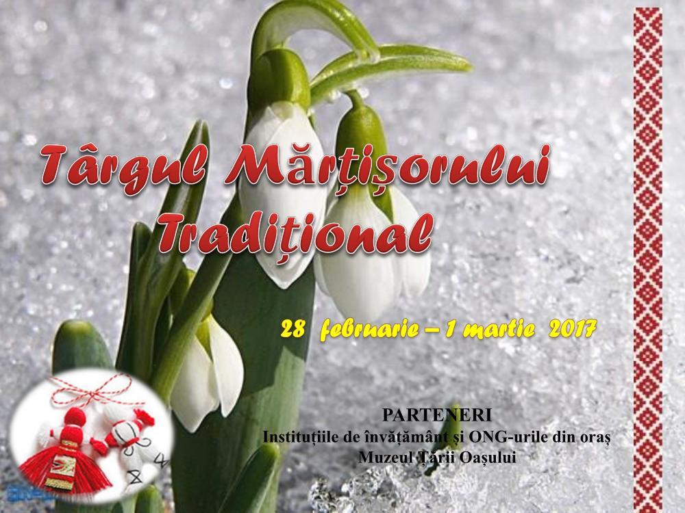 Marți se deschide Târgul Mărțișorului la Negrești Oaș