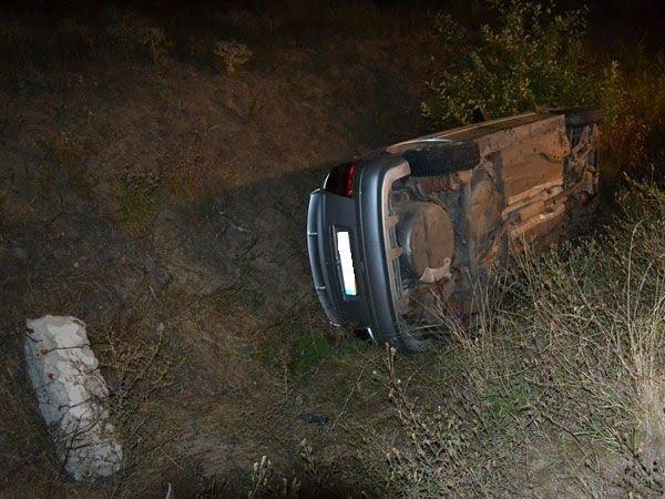 Unii șoferi nu se maturizează niciodată! Doi copii au ajuns la spital după ce un tânăr s-a urcat beat la volan